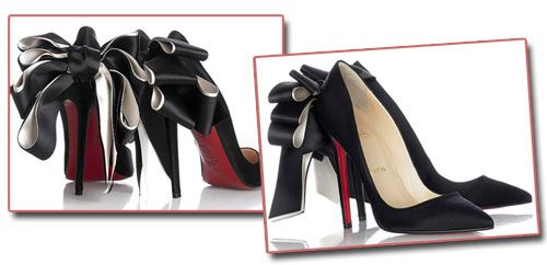 e407d50f2ec Christian Louboutin's 'Anemone' stiletto bow pumps - too much or ...