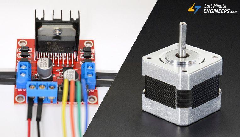 Control Stepper Motor With L298n Motor Driver Arduino Arduino
