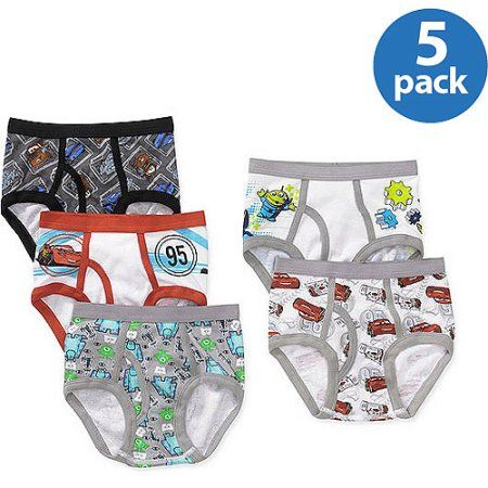 Disney Boys Cars Briefs Pack of 5