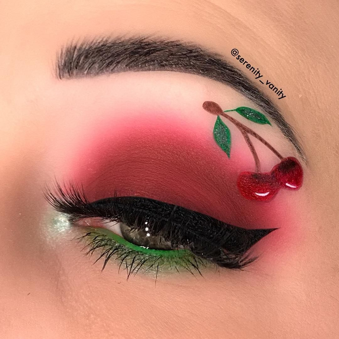 0ffdd7137f3 𝕊𝕖𝕣𝕖𝕟𝕚𝕥𝕪 𝕍𝕒𝕟𝕚𝕥𝕪 on Instagram: Cherry🍒🍒🍒 Lashes www. dodolashes.com use code STAR for a discount lashes start at $5.00