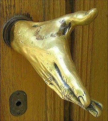 Uhhhhh awesome doorknob haha