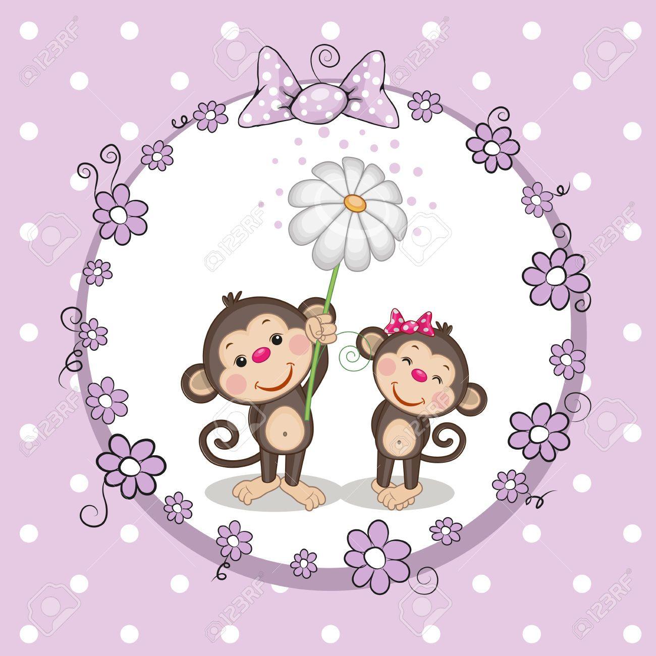 Pin de D&Mdetallitos y manualidades en dibujos de monos | Pinterest ...