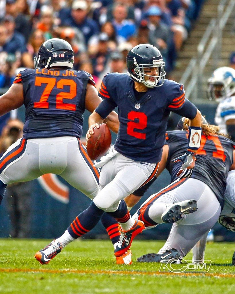 Brian Hoyer With Images Chicago Sports Teams Football Photography Chicago Sports