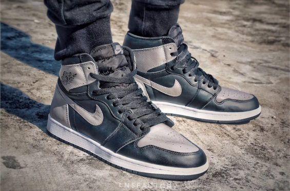 premium selection af5d5 8f1fc On-Feet Look At The Air Jordan 1 Retro High OG Shadow We re