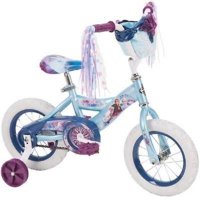 Girls bike Safe Three Wheels with Basket Disney Frozen Trike Small Bicycle