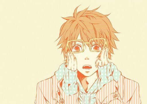 Anime Cute Nerd Male Orange Hair Glasses Anime Uta No Prince Sama Anime Orange