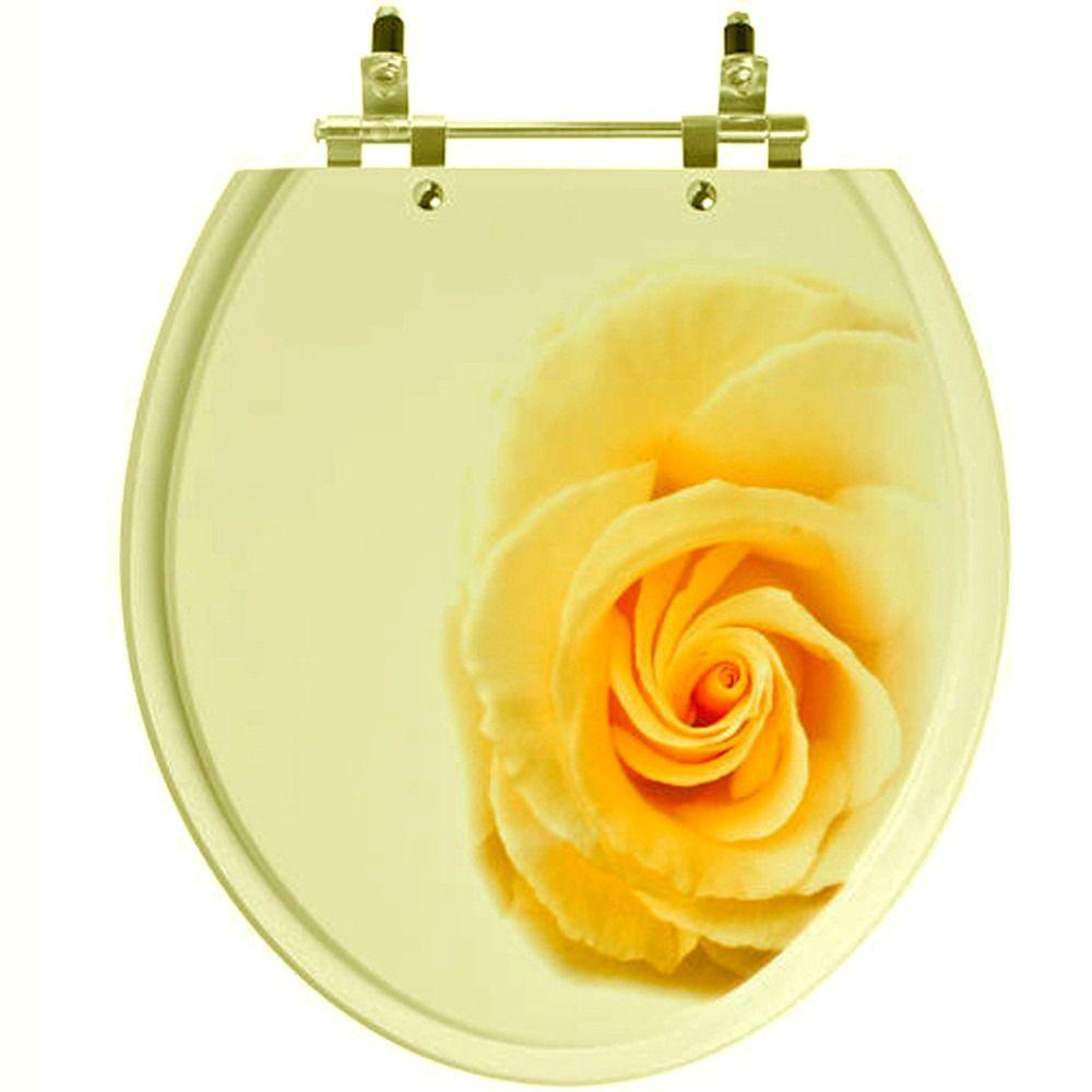 assento sanitário convencional bege claro p/ todas louças