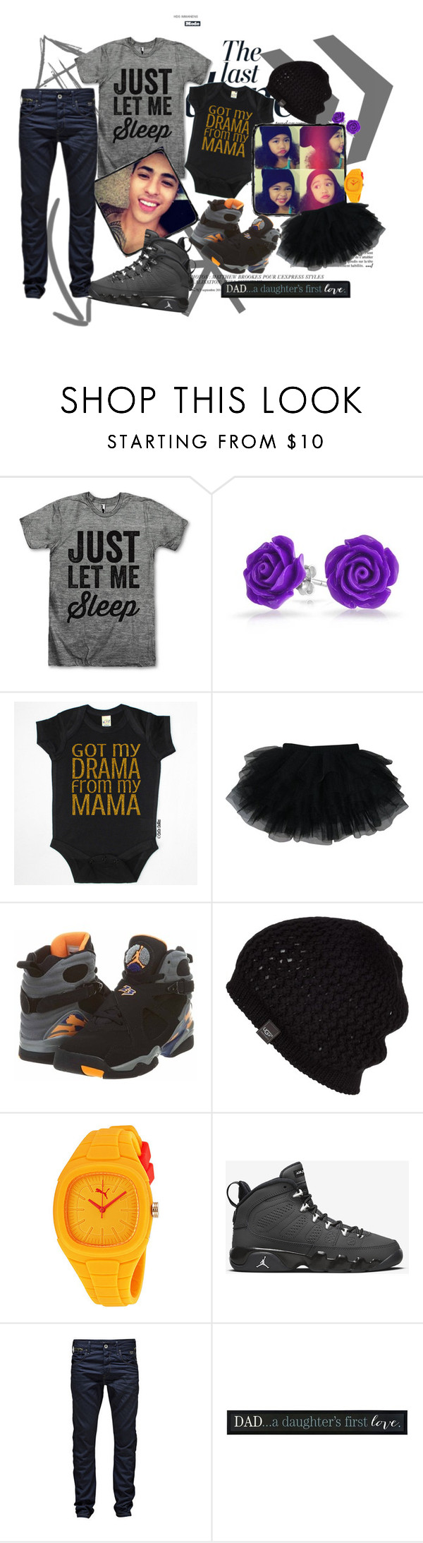 """.::Dress.Up, With.Dad"" by michikin-nozuka on Polyvore featuring Anja, Bling Jewelry, NIKE, UGG Australia, Puma and Jack & Jones"