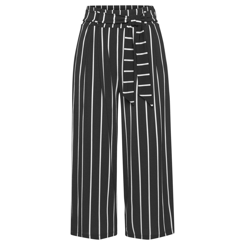 Culotte Von Lascana Schwarz Weiße Streifen Culotte Schwarz Schwarz Weiß
