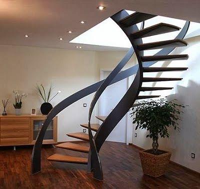 10 Modelos y Tipos de Escaleras para Interiores abimqel