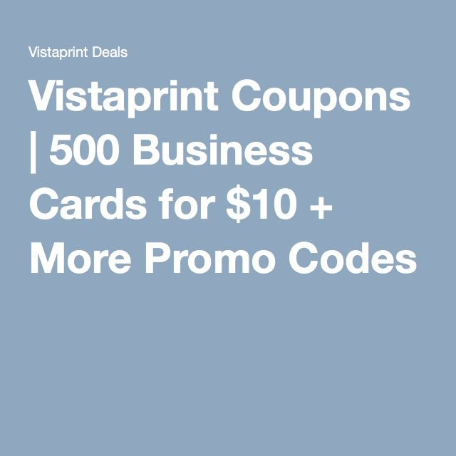 Vistaprint coupons 500 business cards for 10 more promo codes vistaprint coupons 500 business cards for 10 more promo codes colourmoves