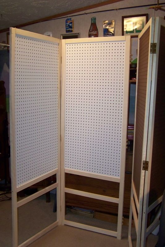 Our new diy peg board display for the craft shows tlc for Display walls for art shows