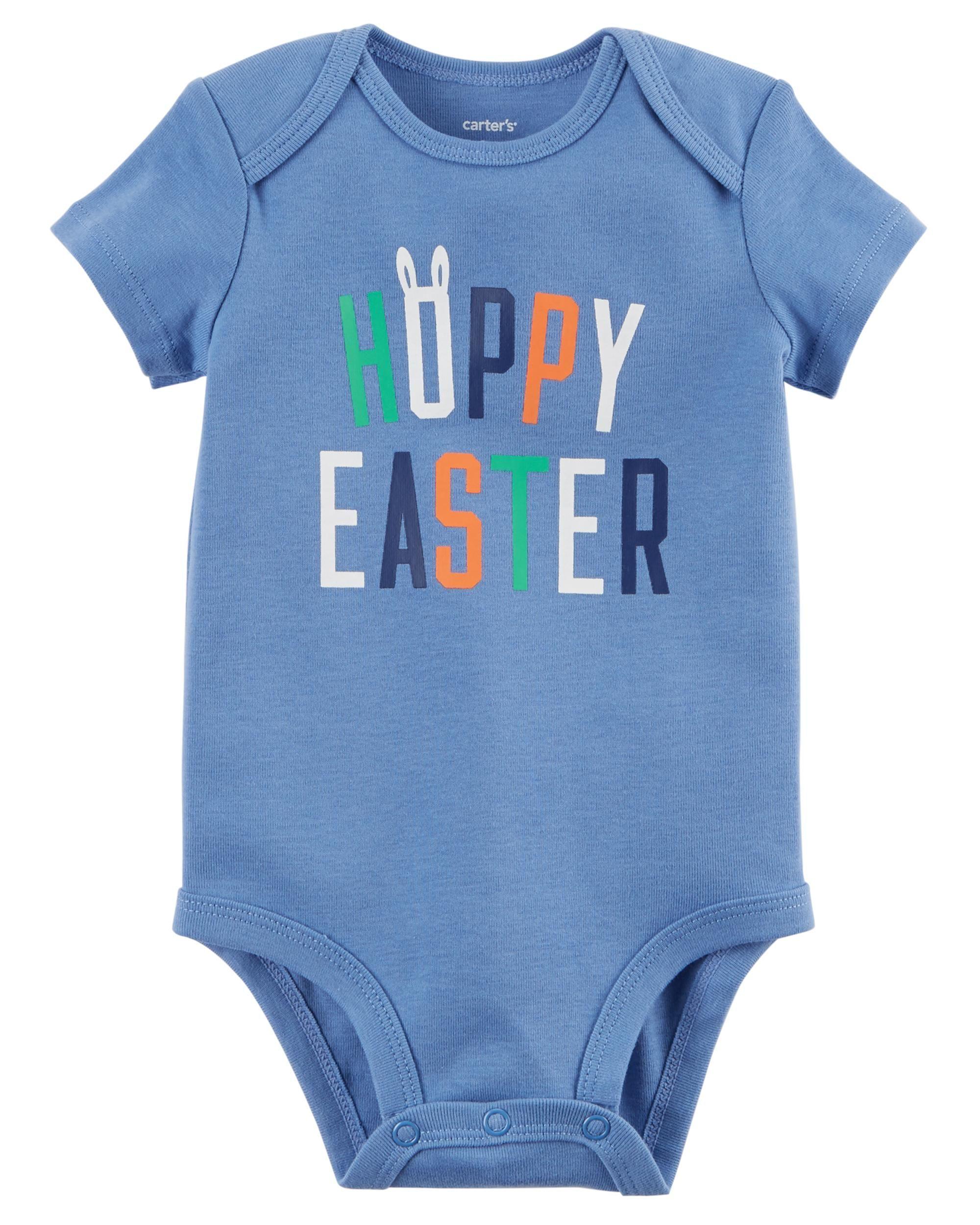 Baby Boy Short Sleeve Easter Bodysuit Carter S Oshkosh Canada