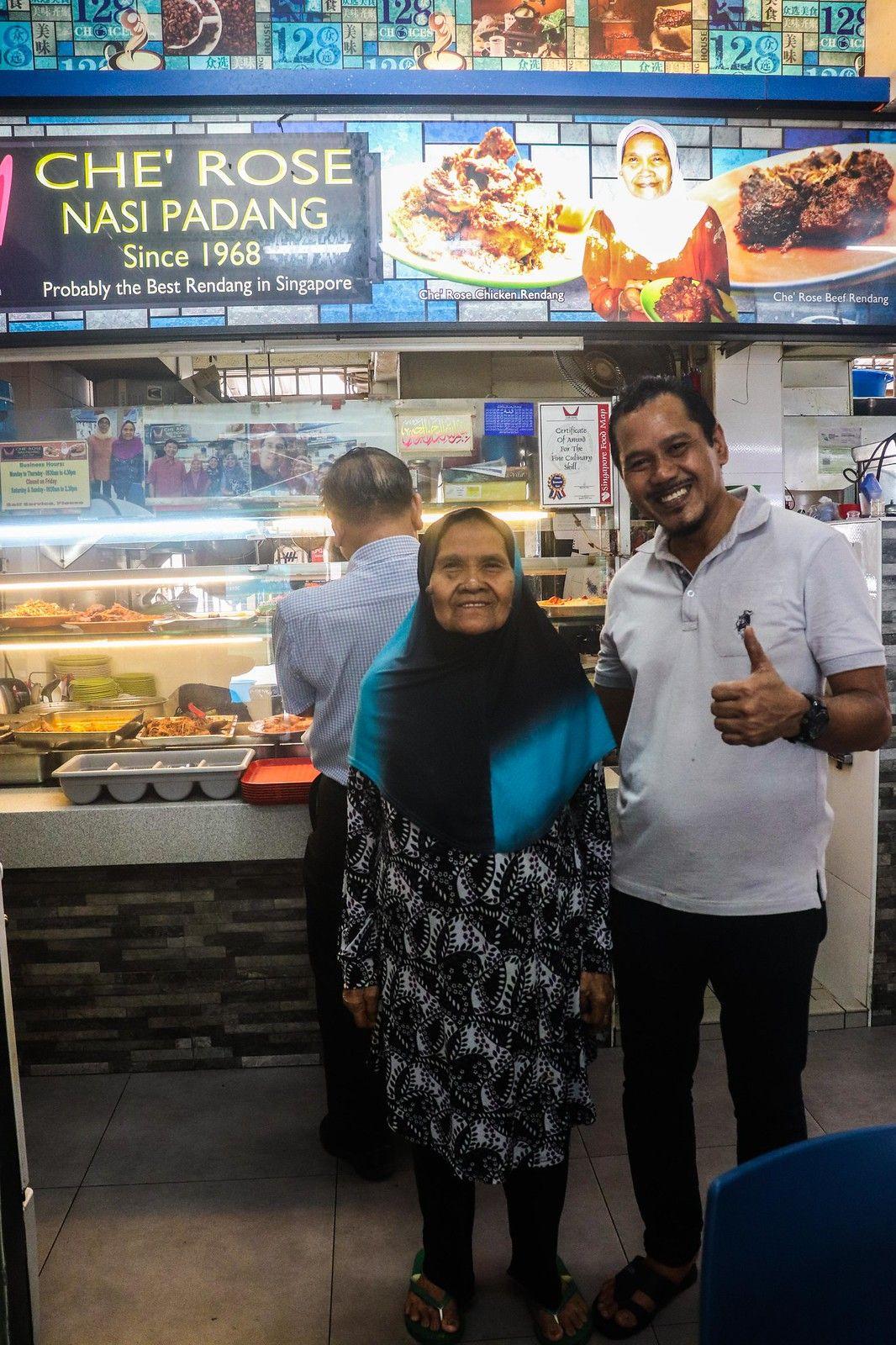 Che Rose Nasi Padang Arguably The Best Nasi Padang In Toa Payoh Miss Tam Chiak Singapore Food Padang Ches