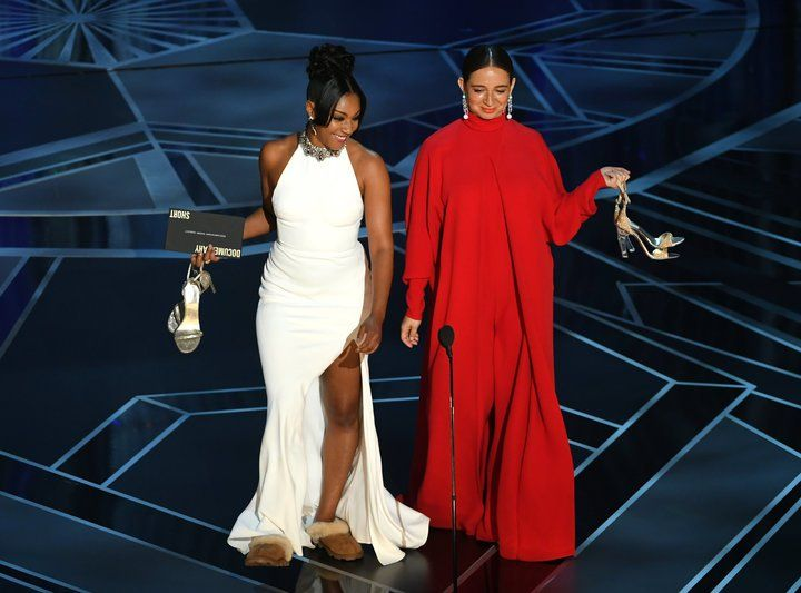 As Promised Tiffany Haddish Re-Wore Her White \'SNL\' Gown At The ...
