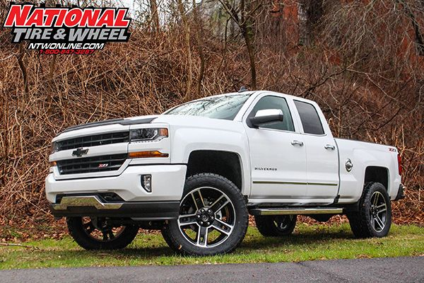 Ntw Install This 2017 Chevy Silverado Received A 4 5in Zone Offroad Products Suspension System And A Set Of 35x12 50r Silverado Accessories Offroad Gm Trucks