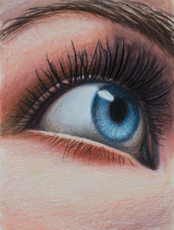 Buy The blue eye -small size drawing - miniature - 10X13 cm, Pencil drawing by Fabienne Monestier on Artfinder. Discover thousands of other original paintings, prints, sculptures and photography from independent artists.
