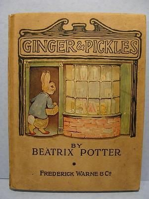 First American Edition Beatrix Potters Ginger Amp Pickles