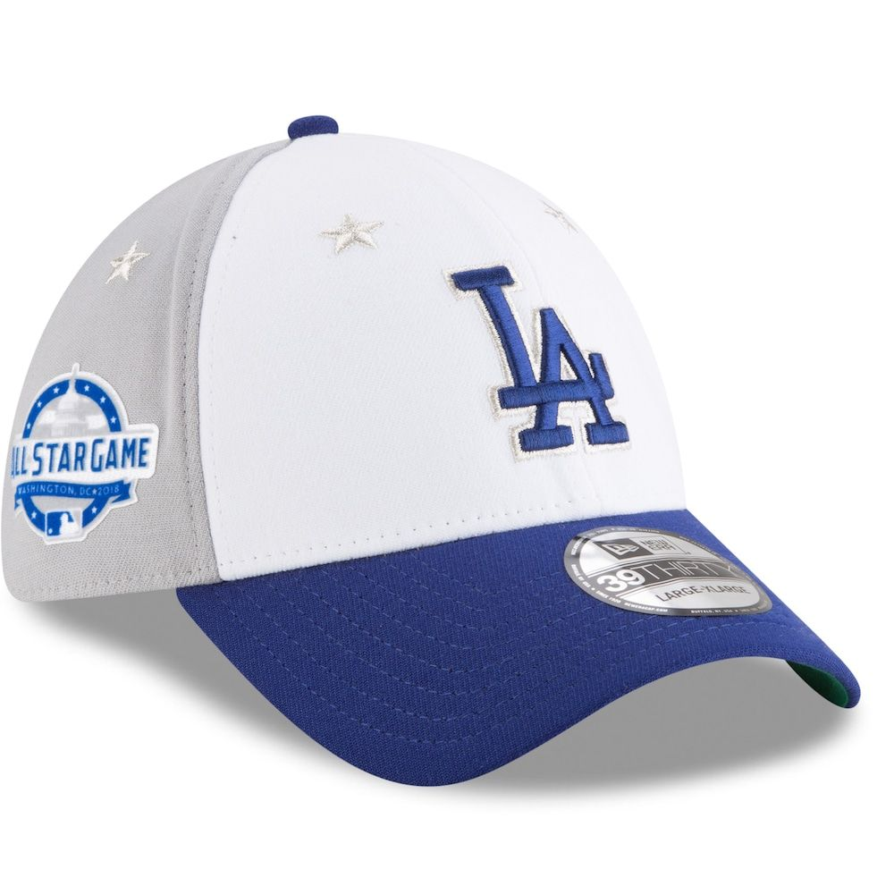 bca94200d6748a Men's New Era Los Angeles Dodgers 39THIRTY All Star Game Cap, Size:  Medium/Large, Blue