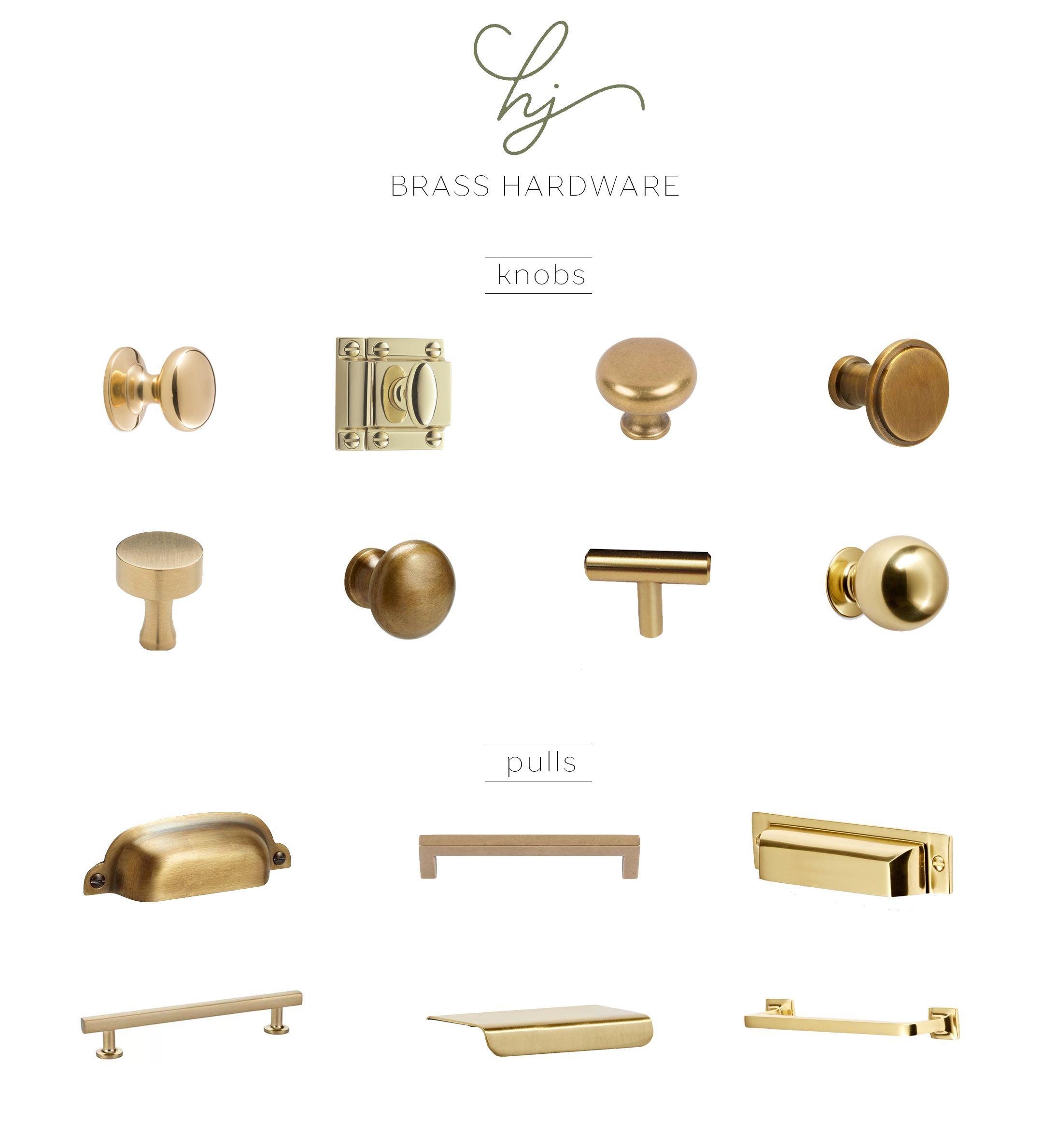 Brass Hardware Favorites Harlowe James Brass Kitchen Hardware Brass Kitchen Handles Brass Kitchen