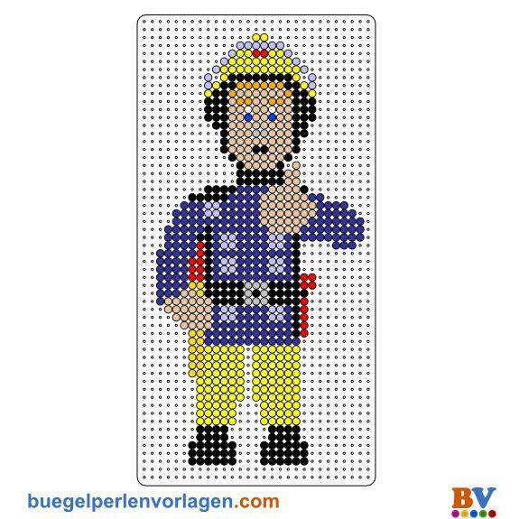 Fireman Sam Cross Stitch חיפוש ב Google Bugelperlen