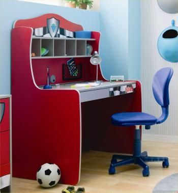 Sport Themed Study Table For Kids