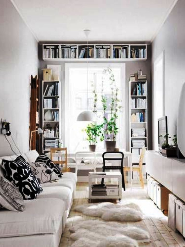 Decorating A Narrow Rectangular Living Room Apartment Decora