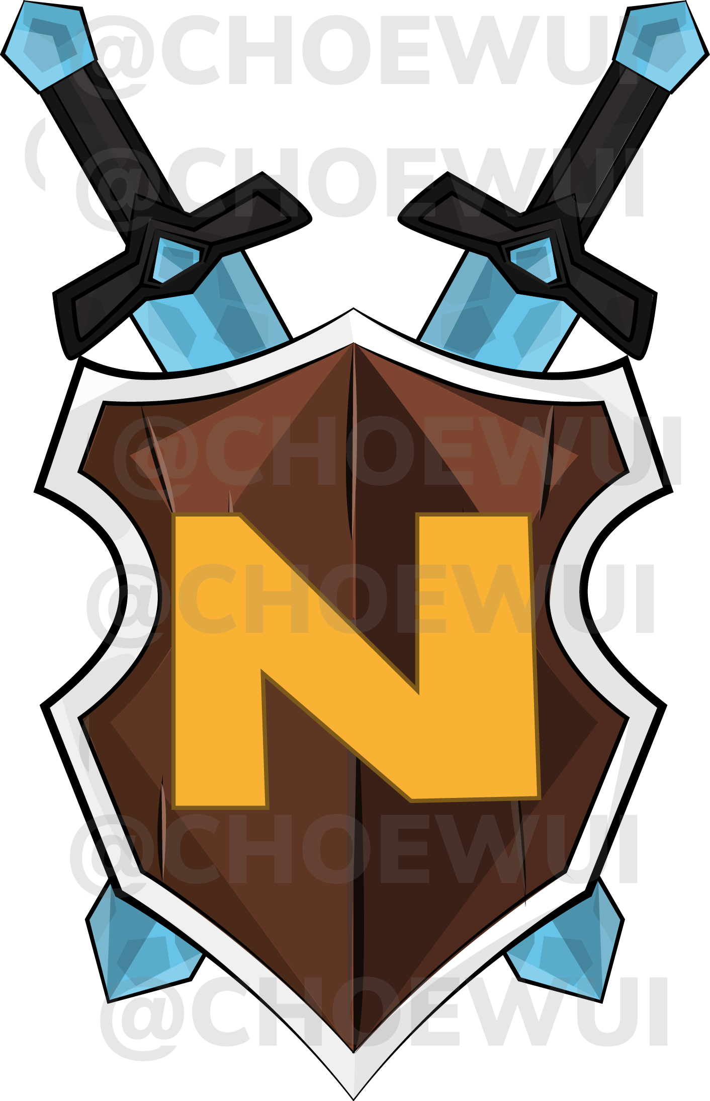 Minecraft Logo Server Made By Choewui