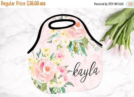 ON SALE NOW - 20% off Christmas Gift, Monogrammed Lunch Tote , Monogrammed Lunch Bag,  Monogrammed Lunchbox, Monogrammed Gift by SassySouthernGals on Etsy https://www.etsy.com/listing/211462531/on-sale-now-20-off-christmas-gift