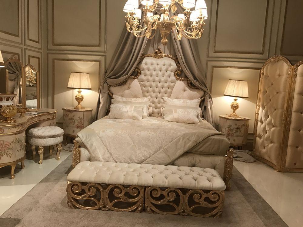 Barock, RokokoStil Machen Sie ein LuxusSchlafzimmer