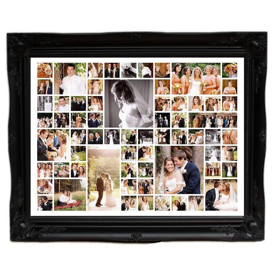 personalised wedding photo montage extra large - Extra Large Frames