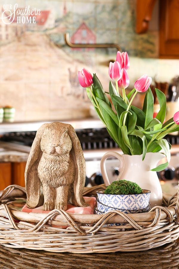 Easter Vignette Ideas - Our Southern Home