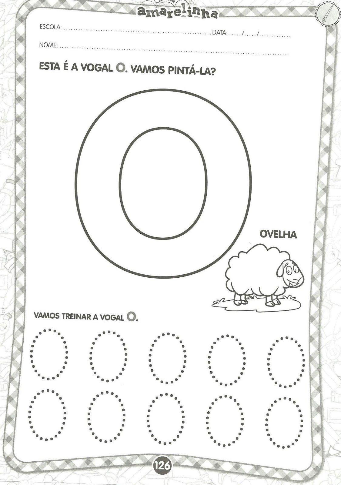 Excepcional Arte de Educar: Vogais - Educação Infantil | Educação | Pinterest  NH53