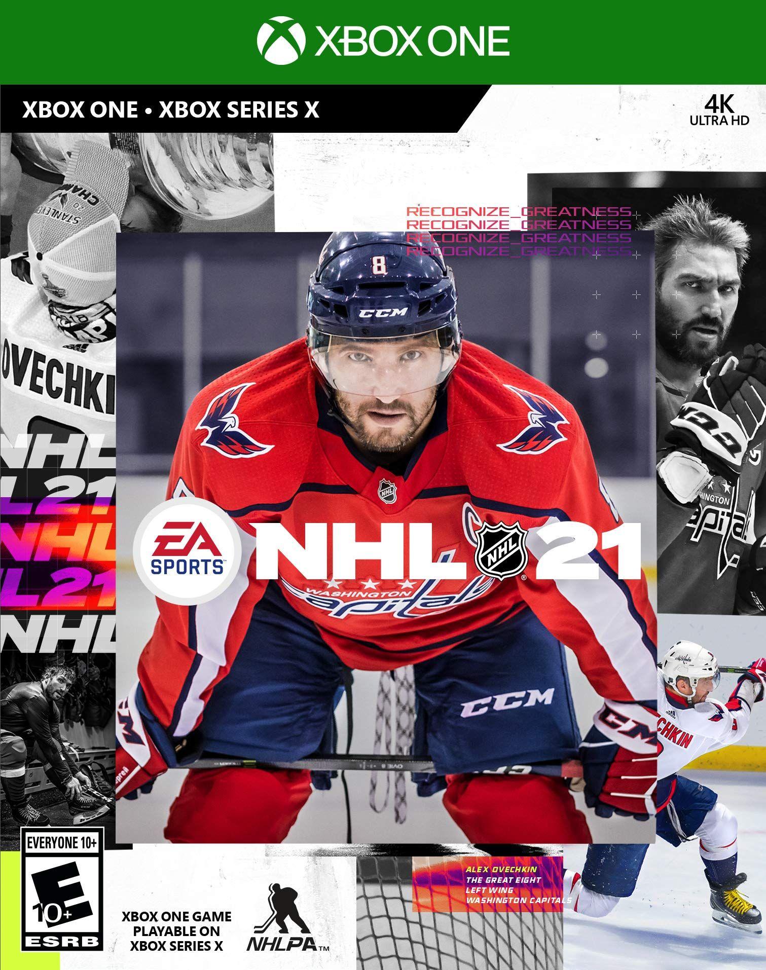 Nhl 21 In 2020 Nhl Xbox One Hockey Bag