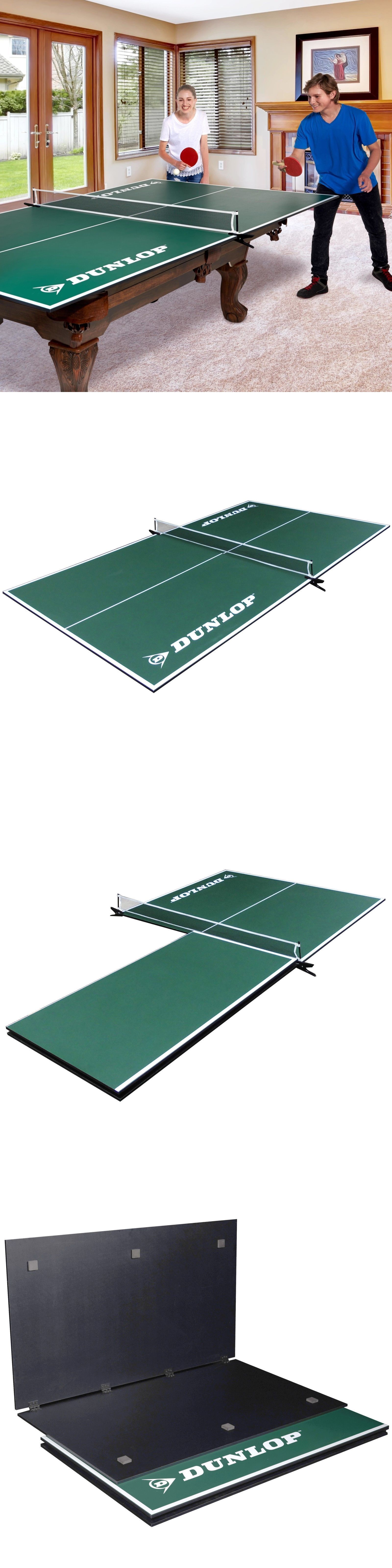 a298a732e42 Sets 158955  Dunlop Official Size Table Tennis 4-Piece Conversion Top  Premium Clamp Style