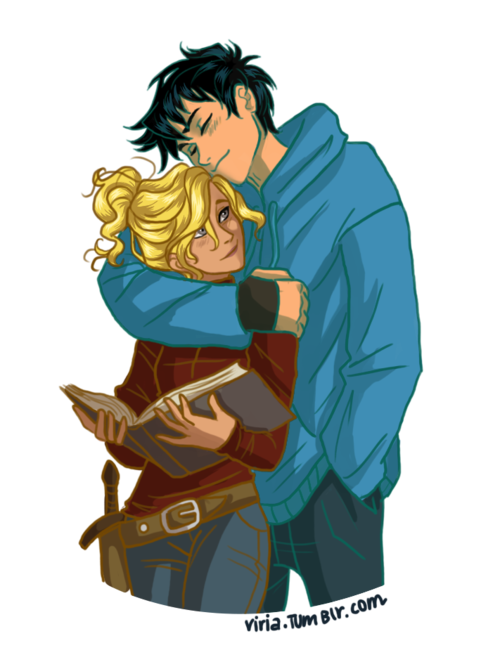 The Mist is Gone - Percy Jackson and Annabeth Chase-Jackson