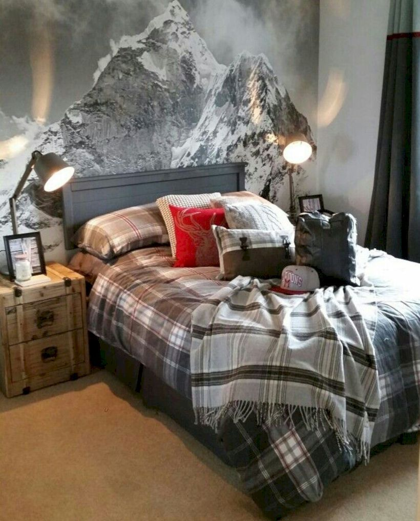 38 Rustic Wall Decor Ideas to Beautify Your Bedroom images
