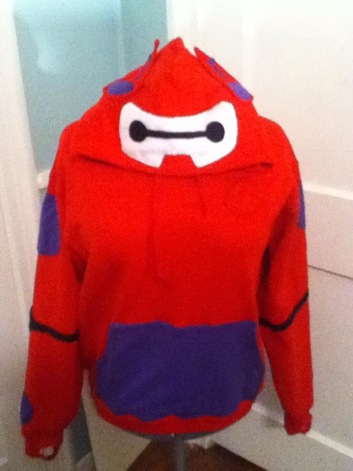 Baymax Hoodie by Heart-of-the-Wind