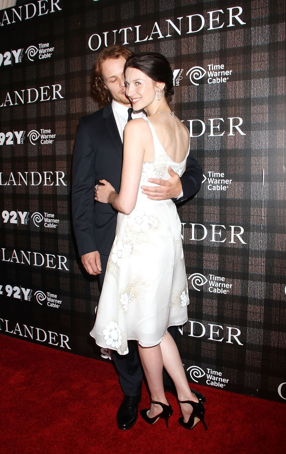 Outlander sam and caitriona dating
