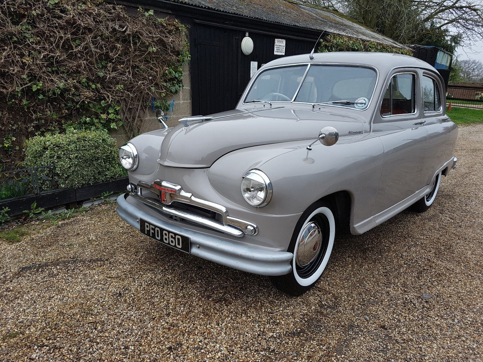 Standard vanguard phase 2 | Pinterest | Cars, Vehicle and British car