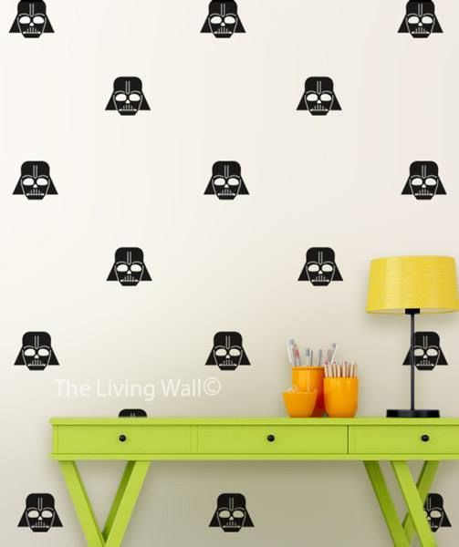 Darth Vader Wall Stickers #StarWars BUY IT HERE  http://ow.ly/UMs1R   $27.76  Worldwide