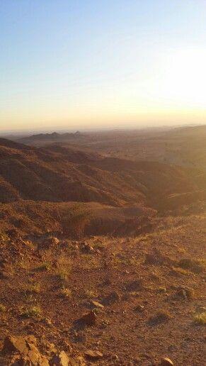 Jordanië vlakbij Dana resort