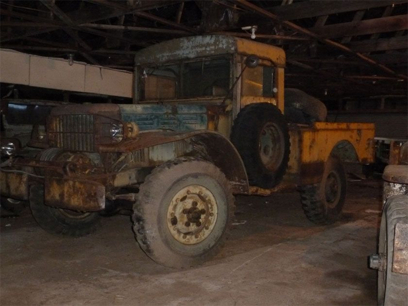 The Jeeps Big Brother Dodge Weapons Carrier Another Barn Find