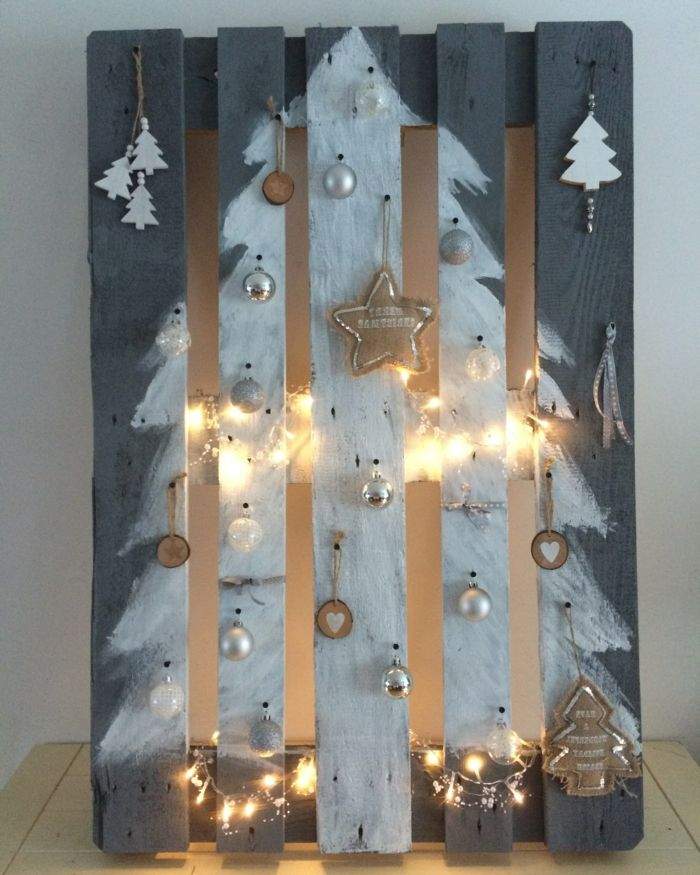 Photo of ▷ 1001 ideas to make an easy and original pallet tree …