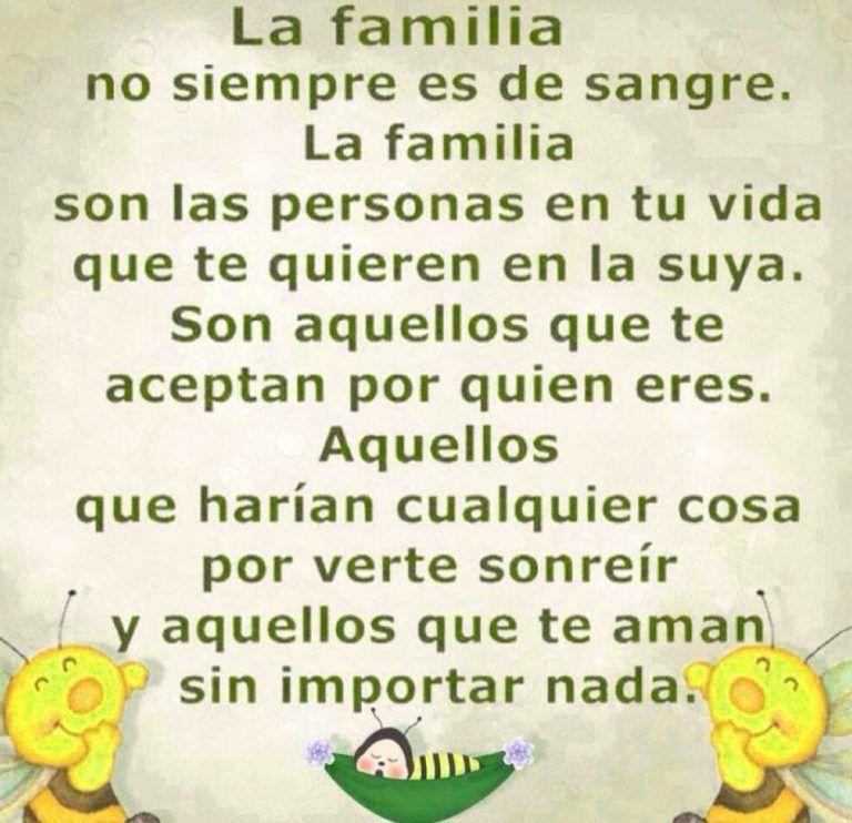 Frase Para Dedicar A Mi Familia Frases Bonitas De Amor