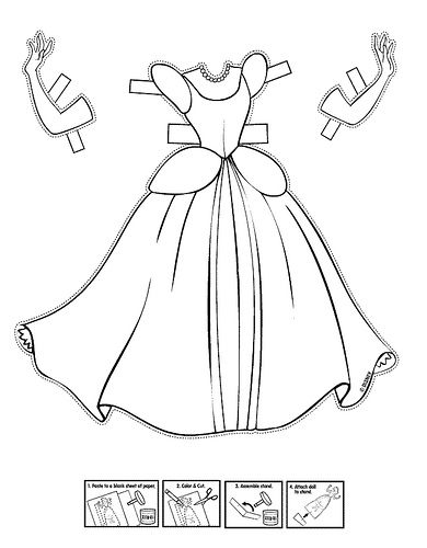 Princess Dress Coloring Pages Princess Dress Colouring Book