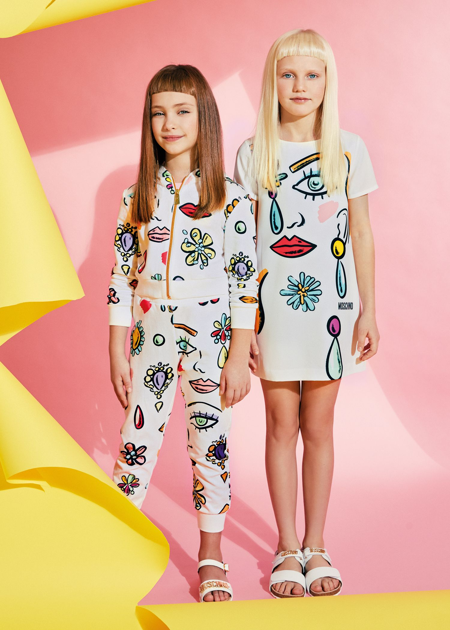 shop moschino ss17 at childrensalon kids pinterest