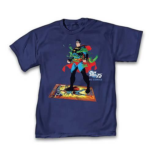 b836dcb7b303 DC Comics 75th Anniversary Superman #233 T-Shirt | Cool T-Shirts | Tee  shirts, Shirts, Superman