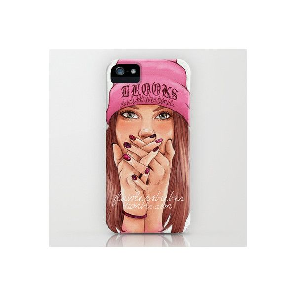Ooops! Pink iPhone iPod Case (£24) ❤ liked on Polyvore featuring phones, cases, electronics, iphone and iphone cases