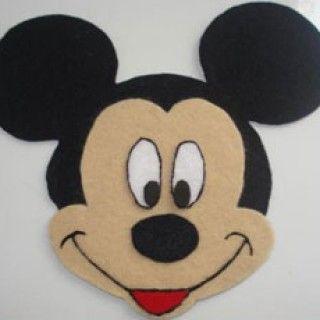 Guirnalda de minnie mouse para cumplea os manualidades - Manualidades minnie mouse ...